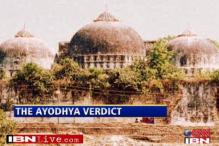 Centre not to intervene in Ayodhya matter