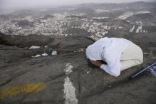 In pics: Pilgrims arrive at Mecca for the Haj