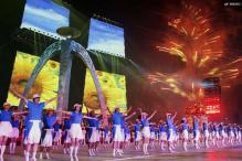 Spectacular fireworks end 16th Asian Games