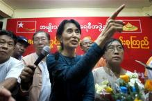 Aung San Suu Kyi weighs Twitter vs Facebook