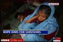 Delhi building collapse: Hope dims for survivors