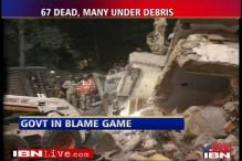 Delhi building collapse: blame game begins