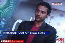 Hrishant Goswami out of 'Bigg Boss'