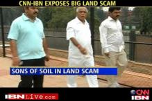 Yeddyurappa involved in multi-crore land scam