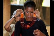 Michelle gets a taste of India at crafts museum