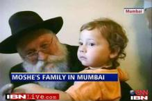 Moshe's family in Mumbai on 26/11 anniversary
