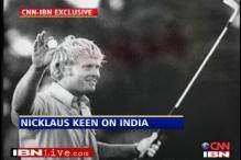 India on golfing legend Jack Nicklaus' agenda