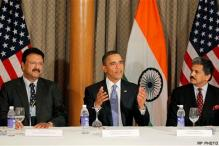 Obama holds discussions with Indian businessmen