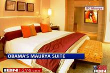 Obama staying at Chanakya Suite in ITC Maurya