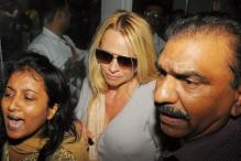 Pamela Anderson's arrival creates chaos