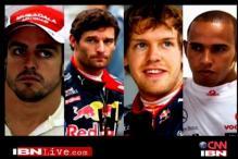 F1 championship hanging in balance