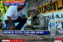 Real Hero: chef gave up job to feed the homeless