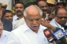 What does Yeddyurappa want before he resigns?