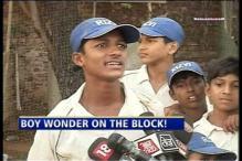 Mumbai kid hits 498 in school cricket