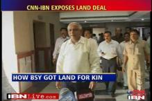Yeddyurappa helps family get land by proxy