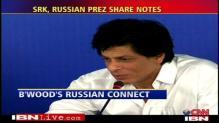 Russian President meets Shah Rukh Khan