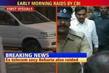 2G: CBI raids homes of Raja's key aides
