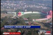 Cricket 'Mahasangram' at 10,000 feet