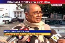 Digvijaya under fire for his remarks on Karkare