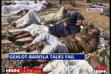 Gehlot-Bainsla talks fail, Gujjar stir continues