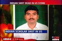 Indian student shot dead in US store