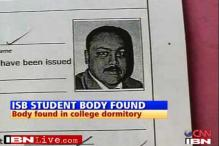 Hyd: ISB student found dead inside hostel room