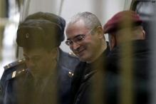 Russian court finds Khodorkovsky guilty