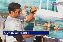 Kingfisher unveils swimsuit calendar 2011