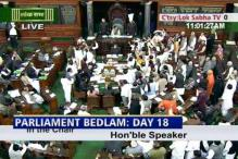 2G logjam continues: Oppn protest outside House