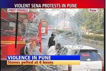 Pune bandh turns violent, Sena workers held