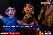 Magic hour of puppetry at Delhi Arts fest