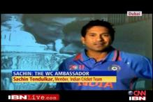 ICC calls upon Sachin to promote 2011 WC