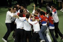Serbia captures first ever Davis Cup title