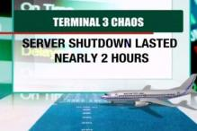 Chaos at Delhi airport after systems collapse