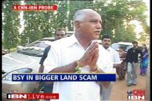 Yeddyurappa in a bigger land scam