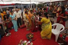 In pics: Mass wedding for blind couples