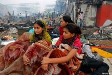 'Slumdog Millionaire' star Rubina homeless in fire