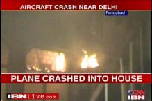 Aircraft with 7 on board crashes in Faridabad