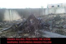 Osama killing: pics from the scene