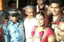Pics: Boxer Vijender Singh marries Delhi girl Archana