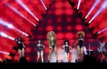 In pics: Beyonce sizzles at Glastonbury Music Festival