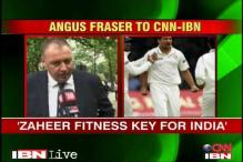 Zaheer fitness key for India: Angus Fraser