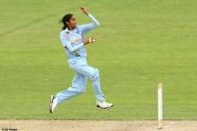 Indian woman pacer Pradhan's action suspect