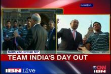 Team India felicitated by UK parliamentarians