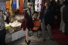 Lady Gaga's shopping spree in Dilli Haat