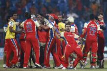 CLT20: Last-ball six takes RCB into semis