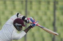 WI 253-5 at stumps on Day 1 vs B'desh