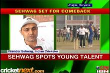 Fit-again Sehwag raring to go in Windies Tests