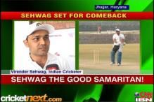 Kids get to train for free at Sehwag's academy