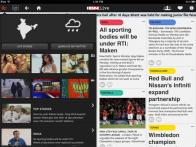 All about the IBNLive iPad app